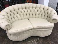 Unusual vintage sofa