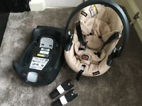 Baby car seat, isofix and buggy adaptors