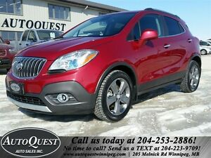 2013 Buick Encore EFFICIENT 1.4L! BLUETOOTH, HTD SEATS & MORE!