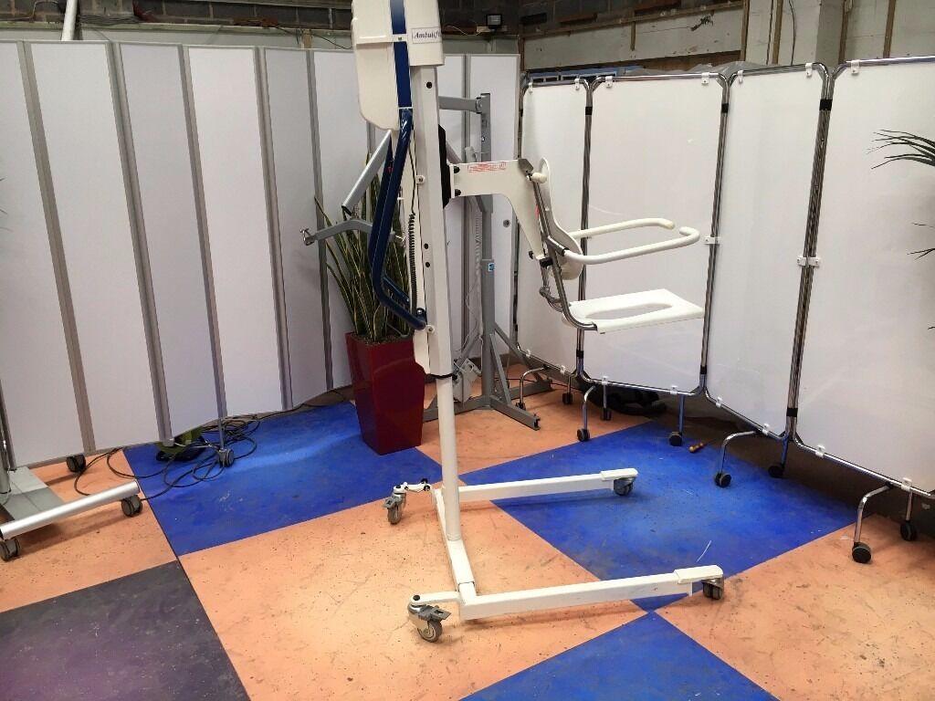 Arjo Ambulift Classic Electric Bath Hoist/Mobile Shower Chair ...