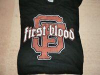 T-shirt, black, first blood print