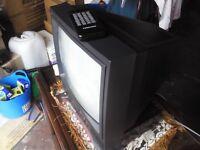 TELEVISION*14 inch REMOTE CONTROL ANALOGUE FERGUSON