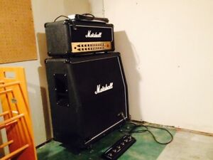 Marshall 1960A 4x12 cabinet and amp