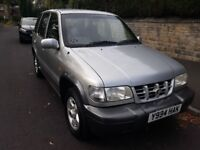 kia sportage 4x4 in excellent condition inside and out long mot starts and runs excellent no probiem