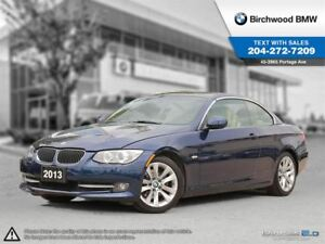 2013 BMW 3 Series 328i Cabriolet! Navigation! Connected Technolo