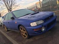 Subaru Impreza turbo wrx sti 4x4 spares or repair