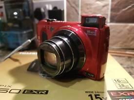 Red FujiFilm 16 Mega Pixel Digital Camera