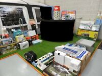 Joblot Caravan Accessories - Over £9,500 of Awnings, Motor Movers, Chairs etc