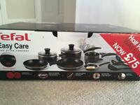 Tefal Easy Care Non Stick Cook Set Never Used
