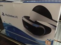 NEW Sony VR Playstation 4, camera and two games.