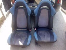 Impreza Prodrive P1 buckets seats RARE