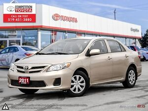 2011 Toyota Corolla CE No Accidents, Toyota Serviced