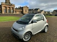 2010, Smart Fortwo Passion, Convertible, 70BHP, 48,400miles, S/Hist x4*, Petrol, Automatic P