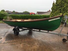 19ft lake fishing boat