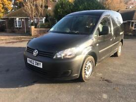 VW Caddy van 1.6 tdi 2013 62 plate Black NO VAT