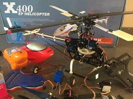 Model rc helicopter