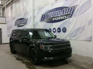 2016 Ford Flex Limited W/ AWD, Leather, Remote Start, BLIS