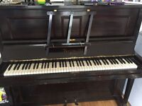 Normelle Upright Piano - £ 25.00 or best offer - Pick up only