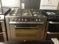 Hotpoint 90cm gas cooker (fan oven)