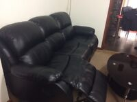 Recliner leather sofa (3+2 seater)