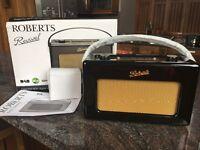 Fab Roberts DAB/FM RD-60 Radio in Piano Gloss Black