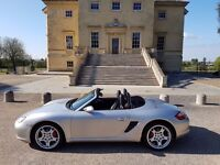 Porsche Boxster 3.2 S for hire from £179 a day