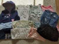 Bundle of girls clothes-12 items-Age 2-3-Mayoral-Little VIP's/Next/M&S/H&M-Great Condition
