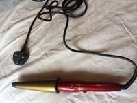 Lee Stafford hair curler tong Argan Oil