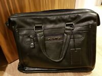 Brand new Valentino leather briefcase