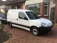 small van, well shod, low mileage and service history,