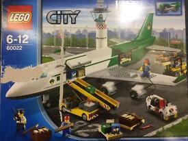 Lego city 60022 airplane