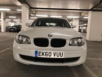 BMW 1 Series 2.0 116d white 5dr Service History