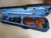 Beautiful never used electro/acoustic Violin