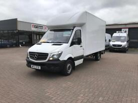 2015 Mercedes sprinter 313cdi lwb luton box van tail lift £14995 or £325 per month j&ft&v mallusk
