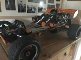 BAJA 5B PETRO RC CAR EXCELLENT CONDITION