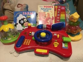 Bundle Of Baby Toys Fisher Price Books etc NW6 West Hampstead/ Gunnesbury