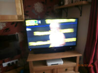 """Bush 50"""" HD LED TV with Freeview, 23 months old!!"""