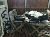 Silver Cross Travel System (COMPLETE)