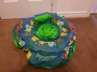 Zogg baby swimming seat