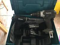 Makita impact driver and drill 18v