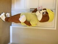 UK SELLER Adult Hot Paw Patrol Rubble Adult Mascot Costume fancy dress £139.99 plus £12.50 postage