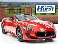 Maserati GranTurismo GRANCABRIO SPORT (red) 2016-04-22