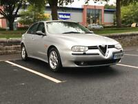 2001 ALFA ROMEO 156 2.0 VELOCE T SPARK *LONG M.O.T* *S/HISTORY* *LOW MILEAGE* *DELIVERY