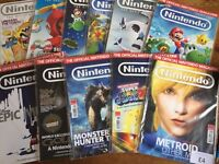£1 each The Official Nintendo Game Magazines