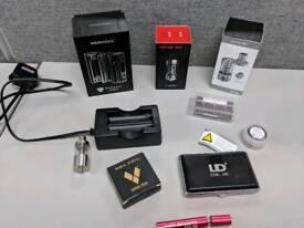 Reuleaux RX 2/3 and Kangertech Mini and SMOK TFV4 Vaping BUNDLE