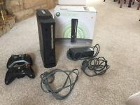 Fully functioning Xbox 360 120gb with two controllers, HDMI cable and in original box