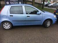 Fiat punto,68000 new cam,waterpump good runner