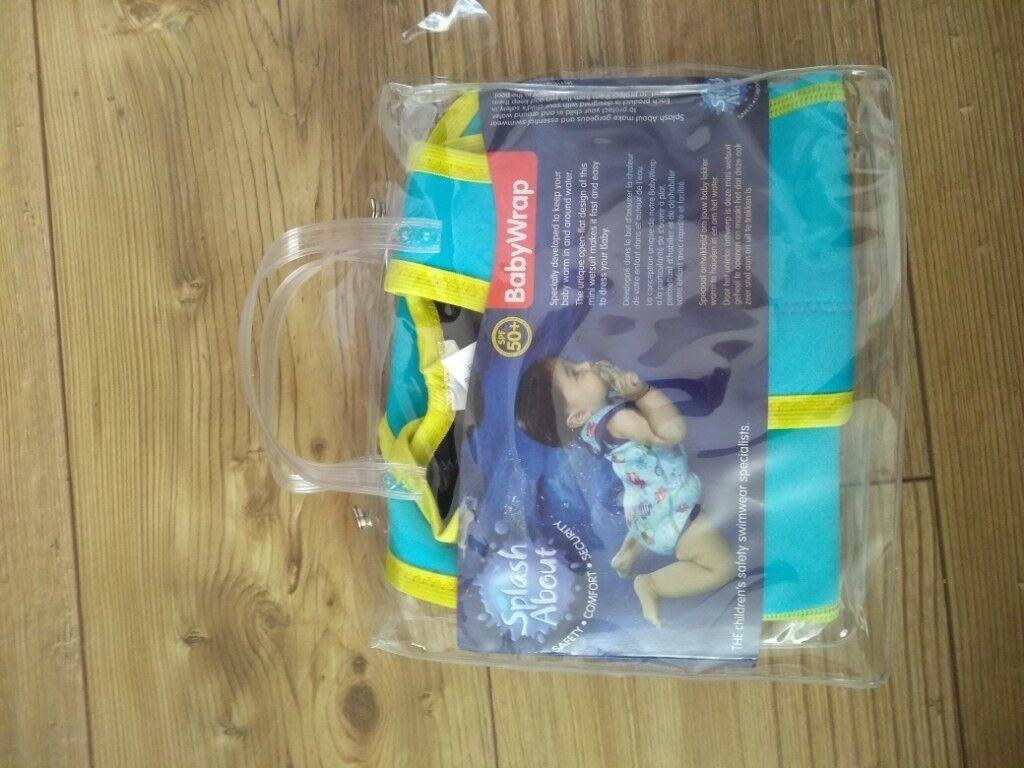 Baby Wrap Swim Vest Splash About 0 6 Months In Southside Glasgow