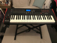 Novation Impulse 49 Midi Keyboard and Stand