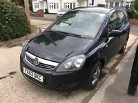 Uber Ready PCO Car/Minicab For Sale,2013 Vauxhall Zafira 1.6 Petrol Low Mileag 7 Seater Pco Car Sale